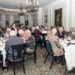 Residents enjoying there evening meal