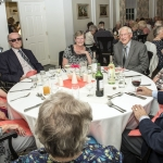 Residents gathered ready to enjoy there evening meal