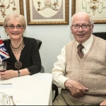Lime Tree Village couple fly the flag at VE event in the village