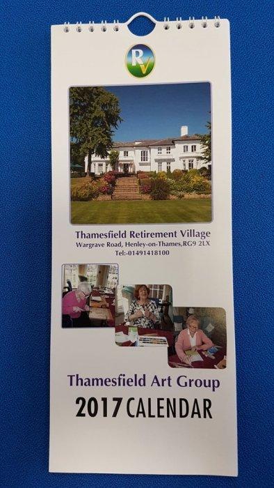 Cover 2017 Thamesfield Calendar