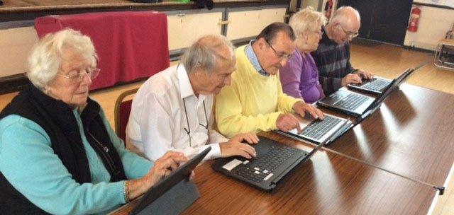 Computer Club at Elmbridge Retirement Village