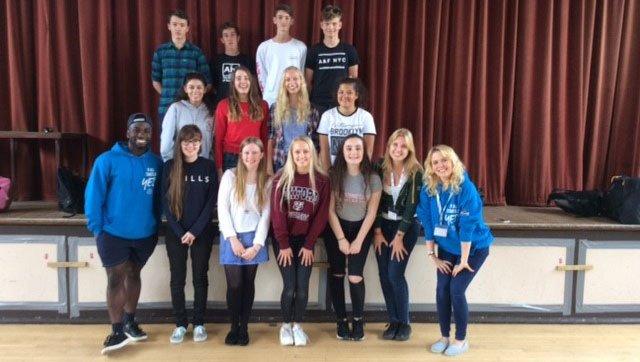 The Challenge Teenagers at Elmbridge Retirement Village